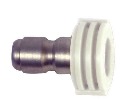 Forney Industries 75156 Quick Connect Washing Spray Nozzle White 40° x 4.5 1/4""