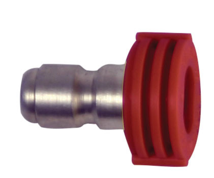 Forney Industries 75157 Quick Connect Blasting Spray Nozzle Red 0° x 4.5