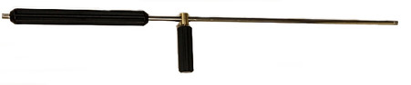 """Forney Industries 75169 1/4"""" x 1/4"""" 36"""" Lance w/ Molded Grip & Side Handle"""