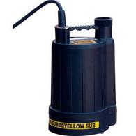 Multiquip YELLSUB Dewatering Pump Yellow Submarine 115V 1/4HP 22GPM