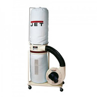 Jet 708658K DC-1100VX-5M Dust Collector Single Phase 1.5 HP 115 / 230-Volt with 5 Micron Bag Kit