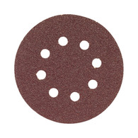 Bosch SR5R000 Hook and Loop Asst Grits 5 In 8 Hole Sandpaper Discs 6 Pk