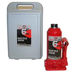 AFF 3506C 6 Ton Bottle Jack With Carrying Case