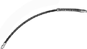 """AFF 8019 18"""" Grease Gun Hose With Spring"""