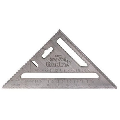 """Empire 2990 Heavy Duty Magnum Rafter Square 7-1/2"""" Length"""