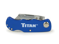 Titan 11018 Blue Folding Pocket Utility Knife