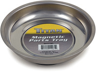 "Titan 11061 4-1/4"" Stainless Steel Mini Magnetic Parts Tray"