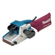 Makita 9404 4 Inch X 24 Inch Variable Speed Belt Sander Cloth Dust Bag
