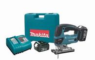 Makita XVJ03 18-Volt LXT Lithium-Ion Cordless Jig Saw Kit Custom (replaces BVJ180)