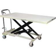 JET 140780 SLT-1100 1100 lb Quick-Lift Pump Jumbo Scissor Lift Table