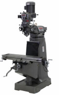 Jet 690107 JTM-4VS 230/460V 3HP 3PH Milling Machine X Powerfeed Installed