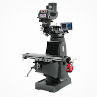 Jet 690221 JTM-4VS 3-Axis Acu-Rite 200S DRO X Powerfeed Milling Machine