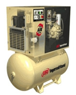 Ingersoll Rand UP6-15cTAS-125 Rotary Screw Air Compressor 80 Gal 15HP 125PSI