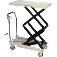 JET 140778 DSLT-770 770 lb Quick-Lift Pump Double Scissors Lift Table