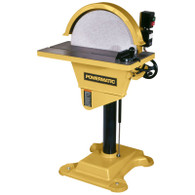 Powermatic 1791264 DS20 3HP 3PH 230/460V 20 In Disc Sander Reverse Feature
