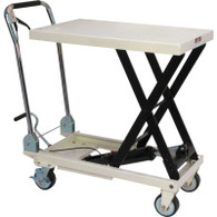 JET 140779 SLT-1650 1650 lb Quick-Lift Pump Scissor Lift Table