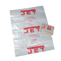 Jet 709563 CB-5 Clear Plastic 20 In Collection Bag For Dust Collectors