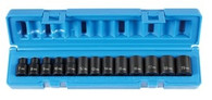 "Grey Pneumatic 1213M 3/8"" Drive Standard Length Metric Socket Set"