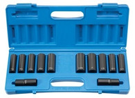 Grey Pneumatic 1500DW 1/2 In Drive Extra-Thin Wall Impact Socket Set