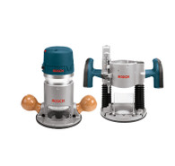 Bosch 1617EVSPK 2.25 HP Plunge & Fixed-Base Router Combo Pack