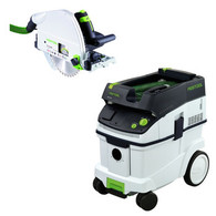 Festool P36561438 TS 75 EQ / CT 36E Package Deal With T-Loc