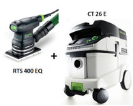 Festool P26567817 CT 26E/RTS 400 EQ Sander Package Deal