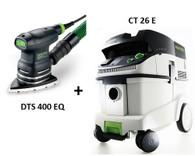 Festool P26567825 CT 26E/DTS 400 EQ Sander Package Deal