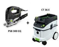 Festool P36561123 CT 36 E/PSB 300 EQ Package Deal