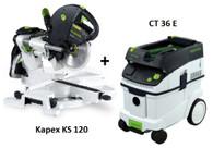 Festool P36561287 CT 36 E/KS 120 EB Package Deal