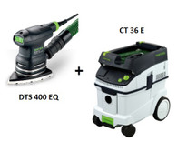 Festool P36567825 CT 36 E/DTS 400 EQ Sander Package Deal