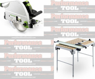 Festool PT3561438 Plunge Saw 3 Multifuctional Table Pkg Deal With T-Loc