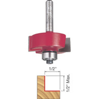Freud 32-502 Rabbetting Bit / Bearing Set 1/2 inch Height Multi Cut Depths