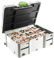 Festool 498899 Assorted Beech Domino Tenon Systainer Set for DF 500