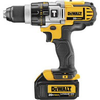 Dewalt DCD985B Bare Tool Only - Shown with optional battery