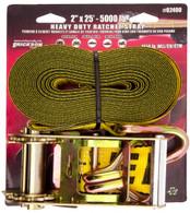 Erickson 52400 2 In X 25 Ft 5000 Lb Ratchet Tie-Down Strap