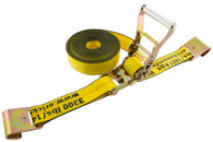 Erickson 58527 2 In X 27 Ft 10000 Lb Ratchet Strap With Flat Hooks