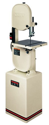 Jet 708115K JWBS-14CS 1HP 14 in. Closed Stand Bandsaw 1HP, 1Ph, 115/230V w/ Micro Adj Guide Blocks