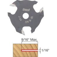 "Freud 56-100 3-Wing Slotting Cutter 1/16"" Carbide 5/16-Inch Bore Diameter"