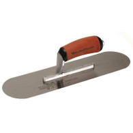 Marshalltown 13113 14 Inch X 4 Inch High Carbon Steel Pool Trowel With Curved DuraSoft Handle