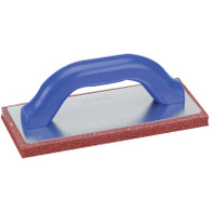 Marshalltown 14404 9 Inch X 4 Inch Rubber Float Fine Pad
