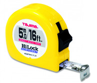 Tajima HL-16/5MBW 16 Ft Standard 5 Meter 3/4 In Dual Scale Tape Measure