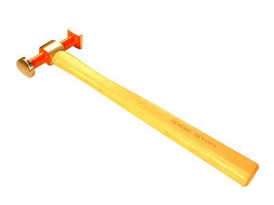 Dagger Tools DT2535 Reverse Curve Light Bumping Hammer