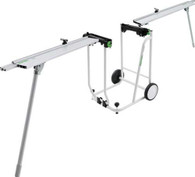 Festool 497354 Kapex UG Mobile Portable Miter Saw Stand Set Kit with Cart and Extensions