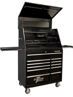 Extreme Tools PWSRC4129TXBK Combo 41 In Deluxe Extreme Workstation & Roller Tool Cabinet
