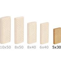 Festool 494938 Beech Domino Tenons, 5mm x 19 mm x 30mm, Pack of 300