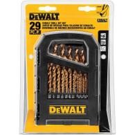 DeWalt DD4069 Cobalt Drill Bit Set - 29 Piece