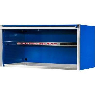 Extreme Tools EX5501HCBL 55 in. Professional Power Workstation Hutch - Blue