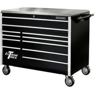Extreme Tools EX5511RCBK 55 in. 11 Drawer Professional Roller Tool Cabinet - Black