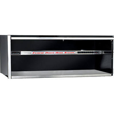 Extreme Tools EX5621HCBK 72 in. Professional Power Workstation Hutch - Black