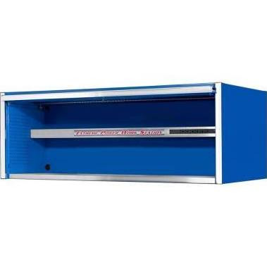 Extreme Tools EX7201HCBL 72 in. Professional Power Workstation Hutch - Blue